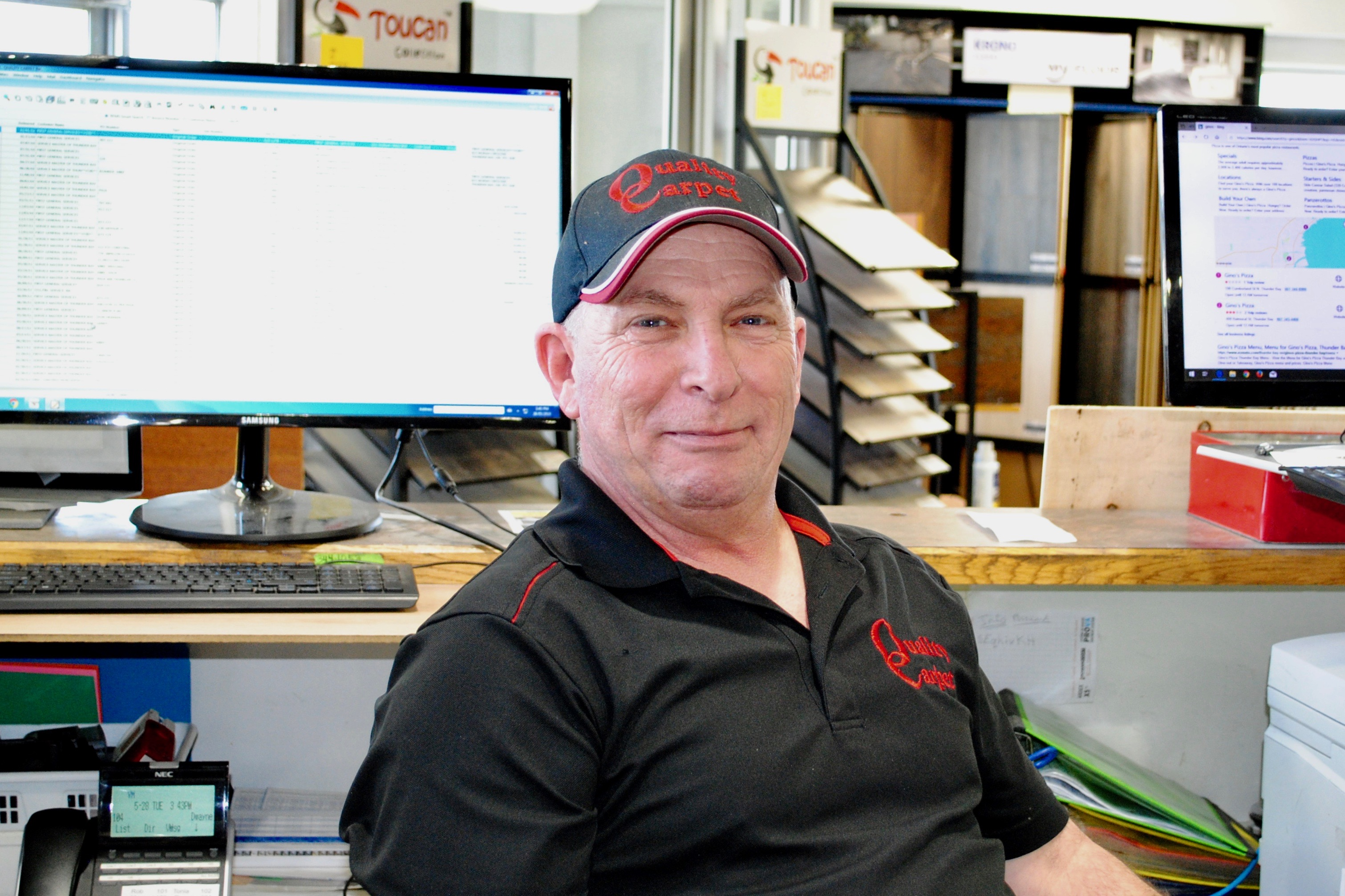 Dwayne, Quality Carpet Sales Rep Quality Carpet in Thunder Bay, Ontario