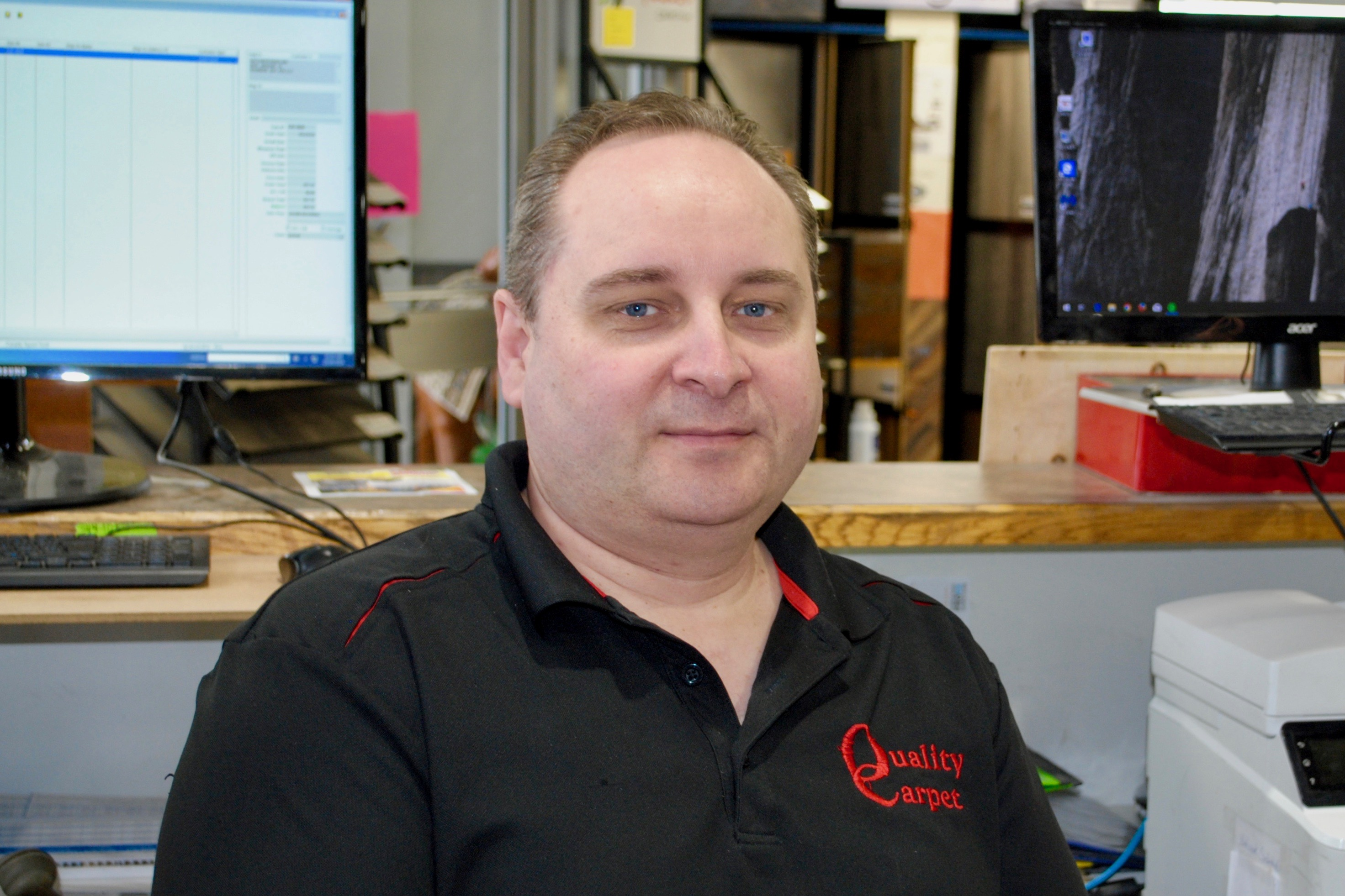 Jamie, Quality Carpet Sales Rep at Quality Carpet in Thunder Bay, Ontario